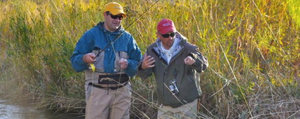 Expert Fly Fishing Instruction