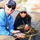 great fly fishing on the Provo River